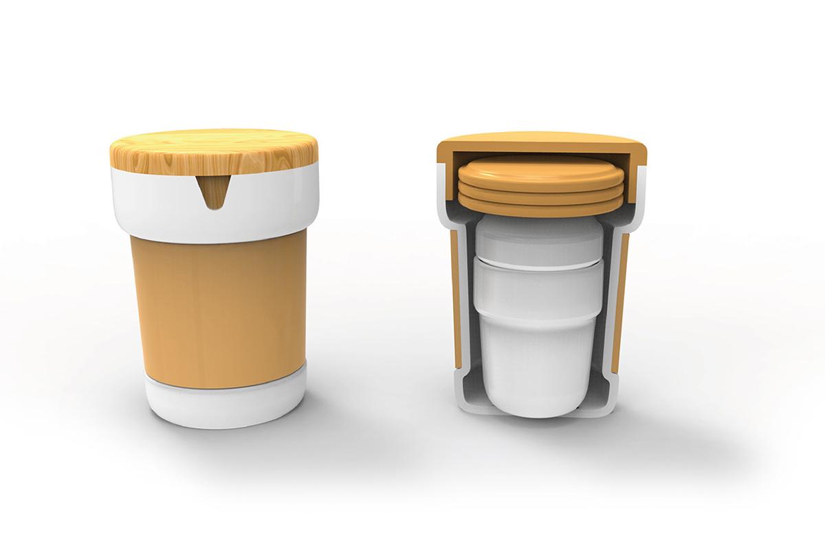 PicPot, le set de thé innovant par Arthur Fouillet