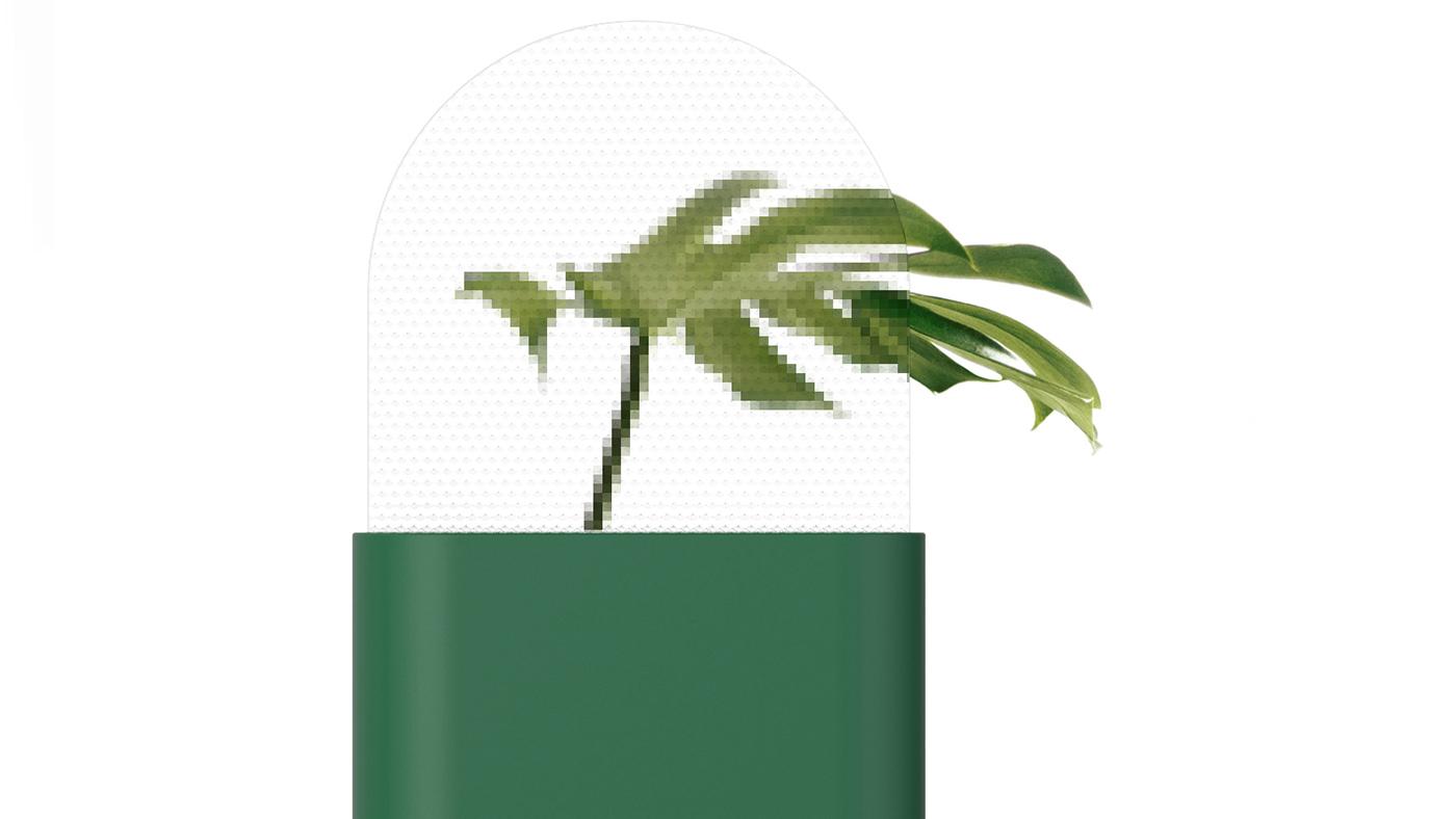 Pixel, le vase de Jaekyu Jung