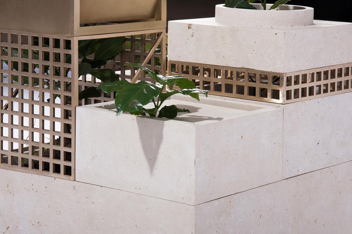 Plantscape, le pot modulaire du studio Supaform