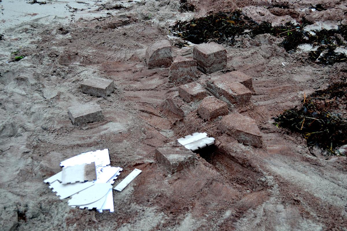 Projet Etudiants : SabLab «Les châteaux de sable, en mieux»