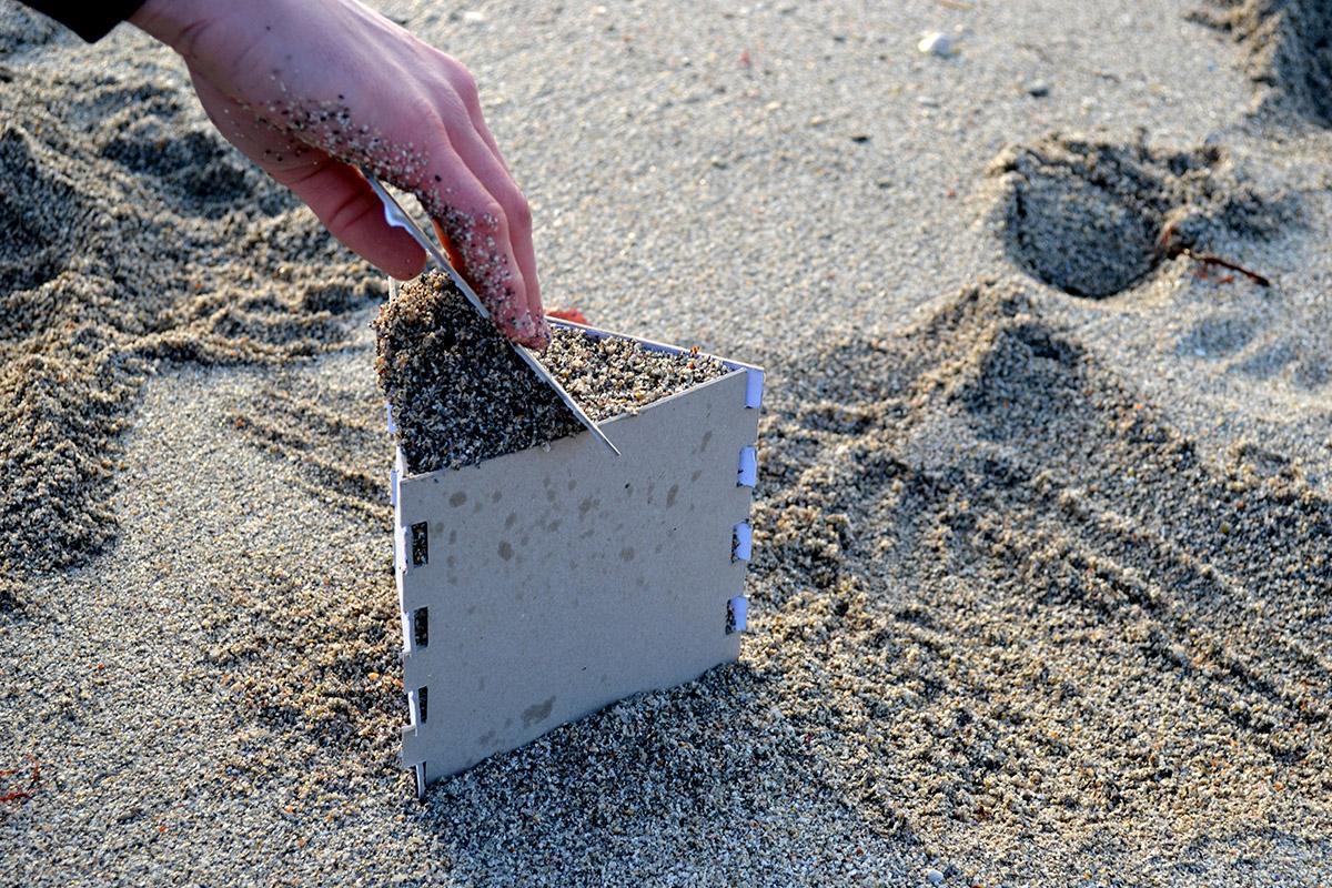 """Projet Etudiants : SabLab """"Les châteaux de sable, en mieux"""""""