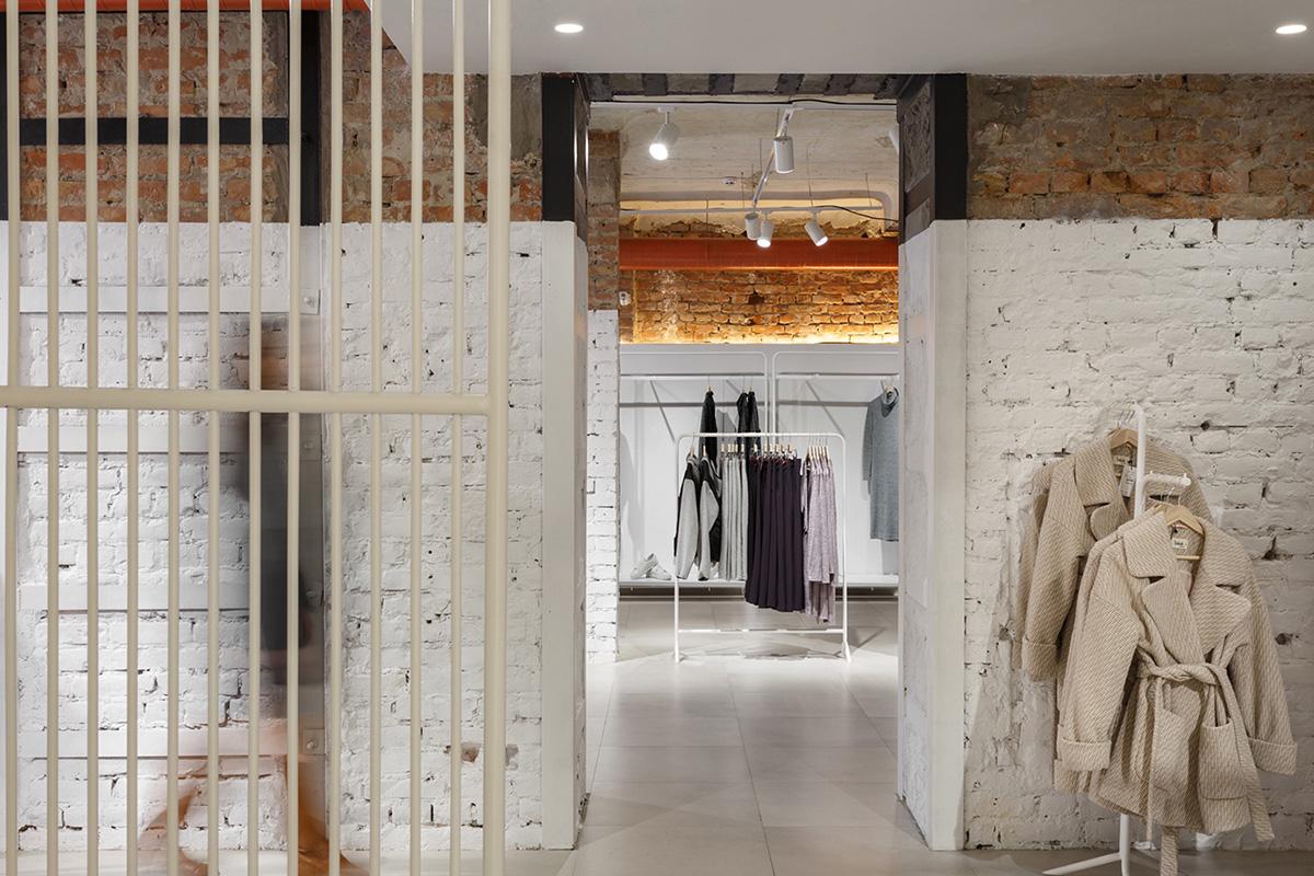 Week, le concept store par le studio Nottdesign