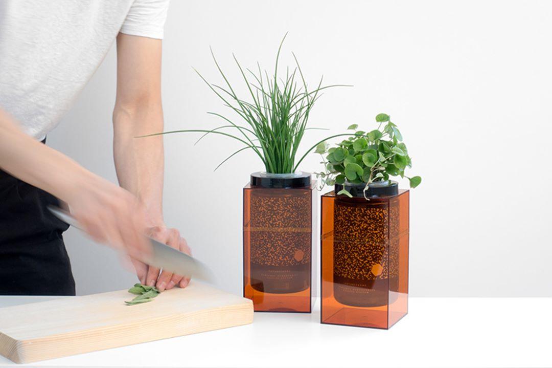 spacepot un pot hydroponique digne de la nasa dans votre cuisine par futurefarms blog esprit. Black Bedroom Furniture Sets. Home Design Ideas