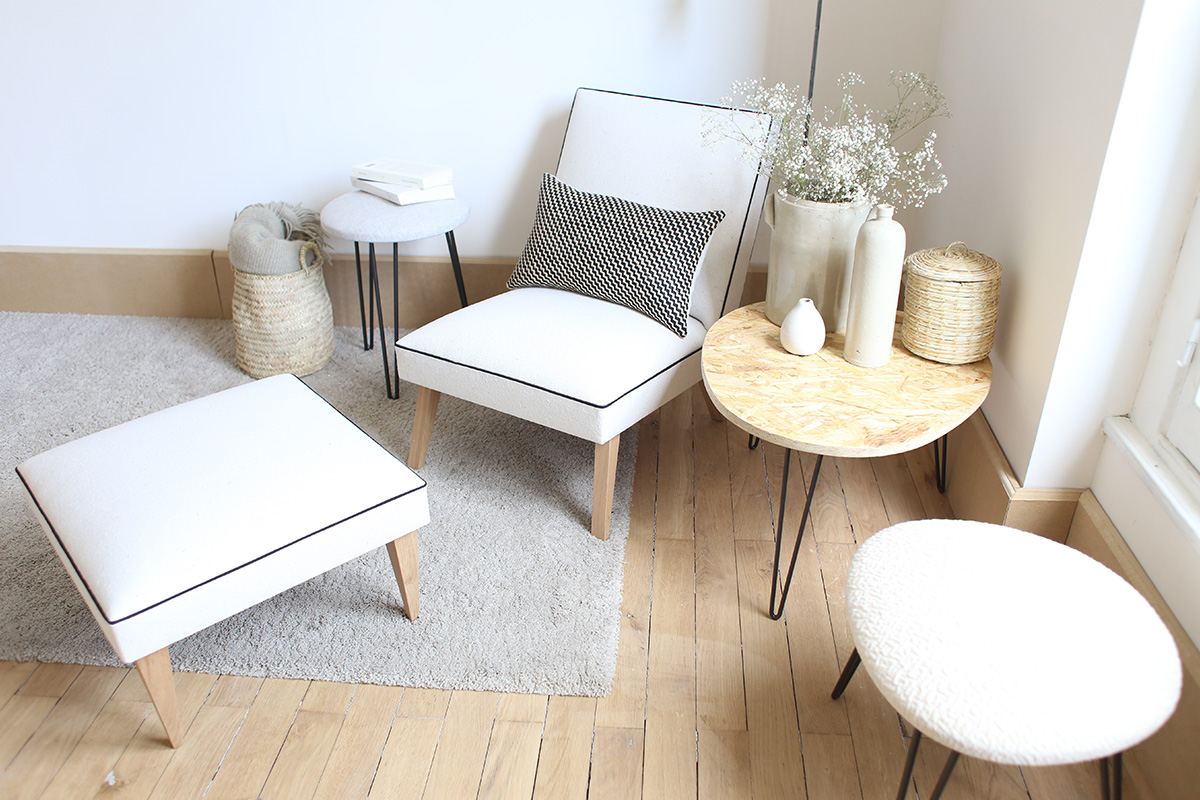 le bienvenu et l 39 intr pide les tabourets de charlotte savignat blog esprit design. Black Bedroom Furniture Sets. Home Design Ideas