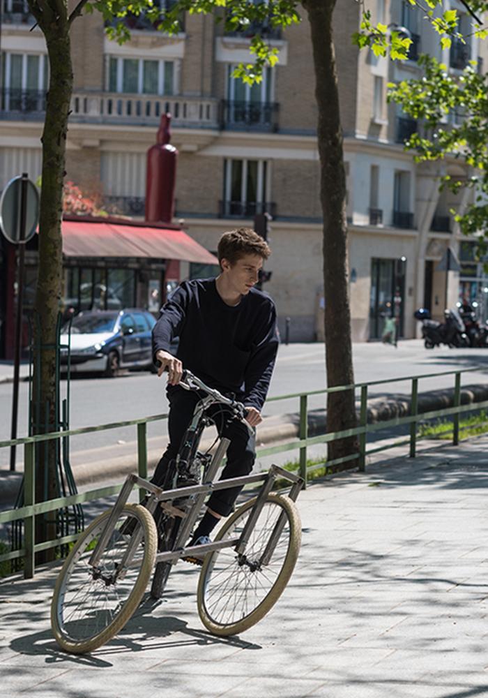 Crowfunding : Vélo-Pélican, le module universel de 4 étudiants de L'ENSCI Paris