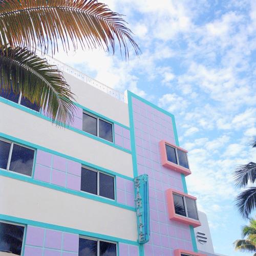 Miami Beach Art Deco District, la plus grosse concentration  d'architecture Art Déco du monde