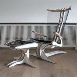 Hippokamp Lounge Chair par Peter Qvist