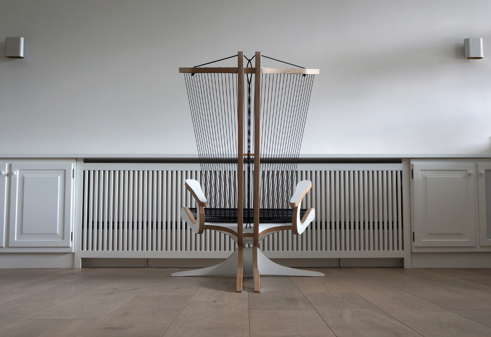 Hippokamp Lounge Chair par Peter Qvist