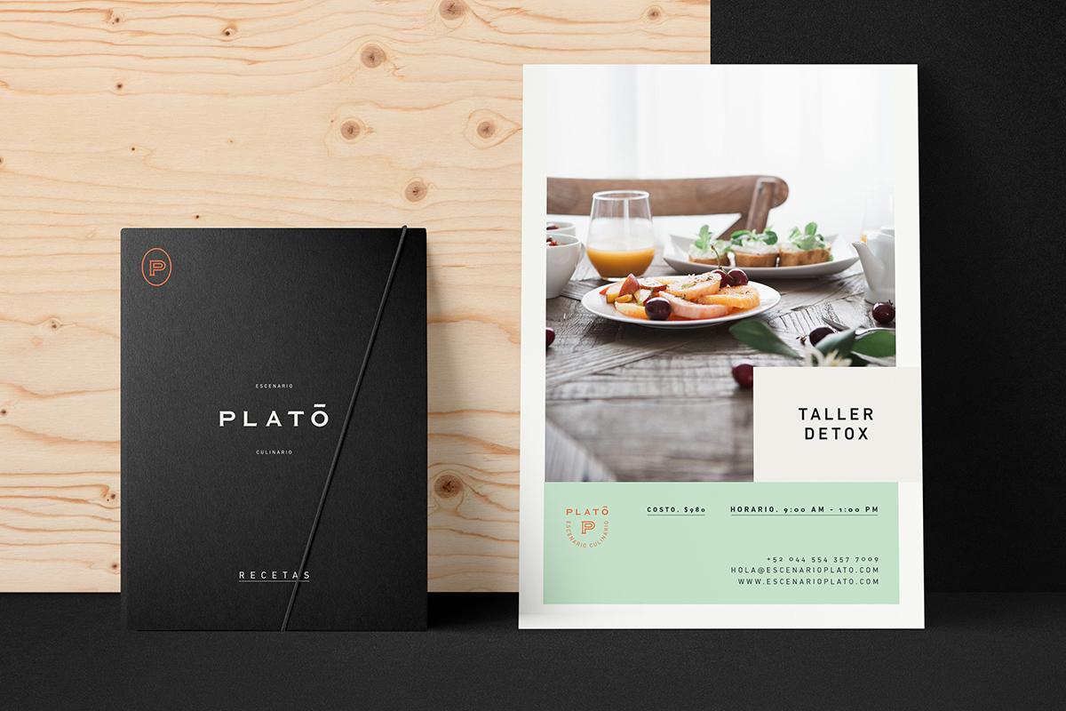 Plato, une plateforme numérique culinaire par le studio Treceveinte