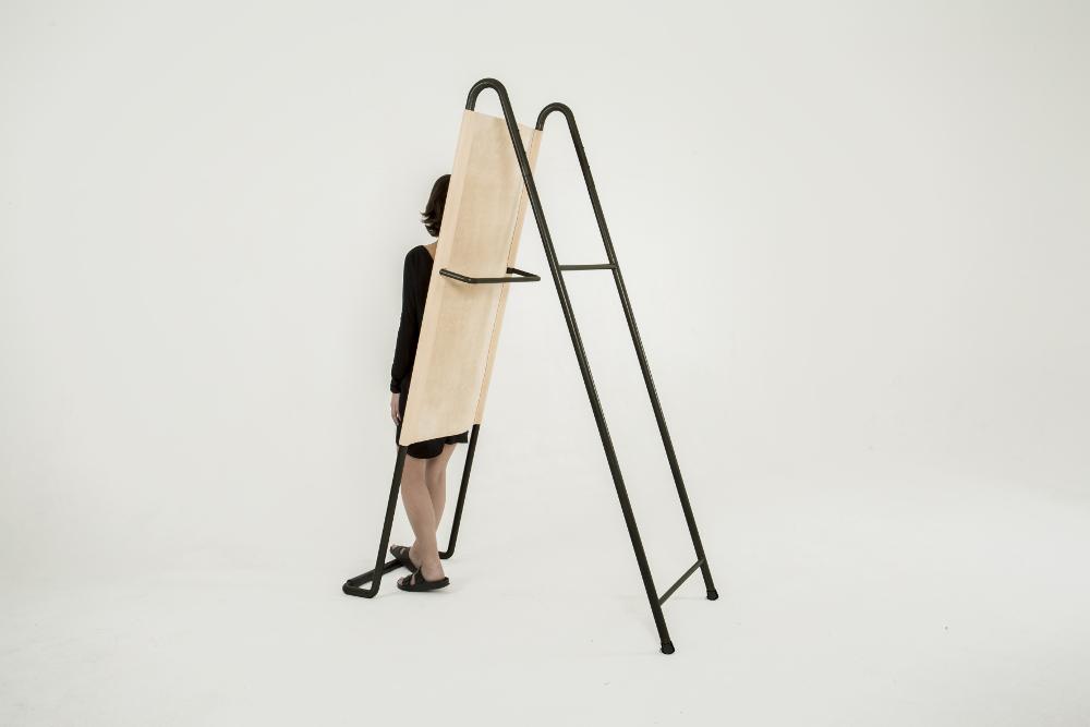 PARADOSSO dossier de cuir par Pierre-Emmanuel Vandeputte