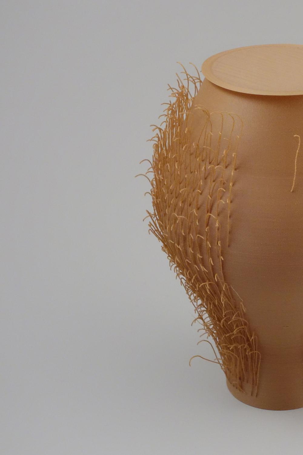 POILU vases imprimés en 3D par Bold Design