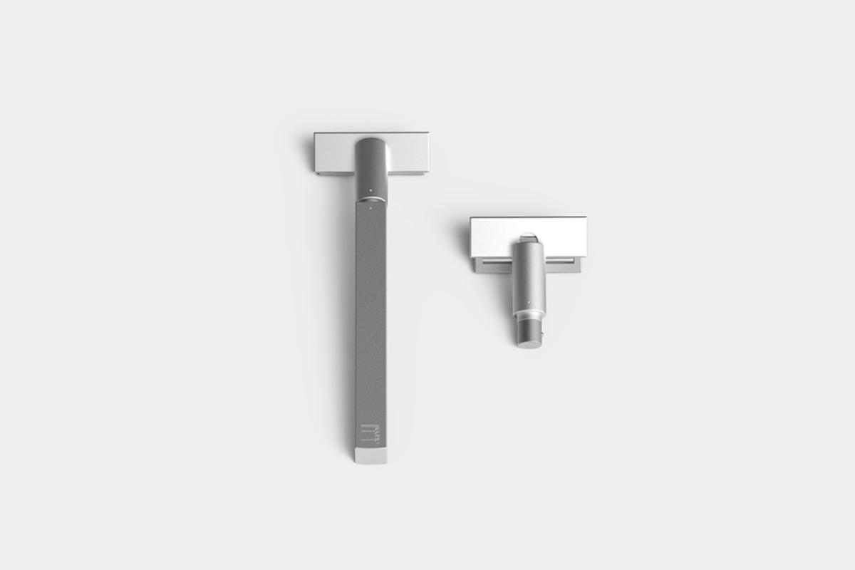 Grooming Pack, le set de rasage minimaliste du studio Found / Founded
