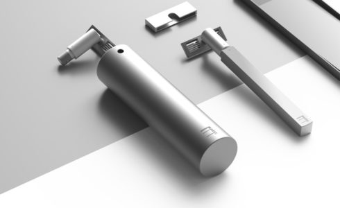 Grooming Pack, le set de rasage minimaliste du studio Found / Founded