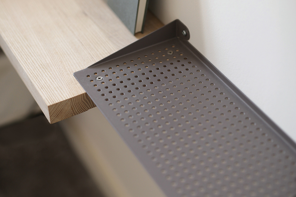 Woups, l'étagère invisible du studio Swab Design