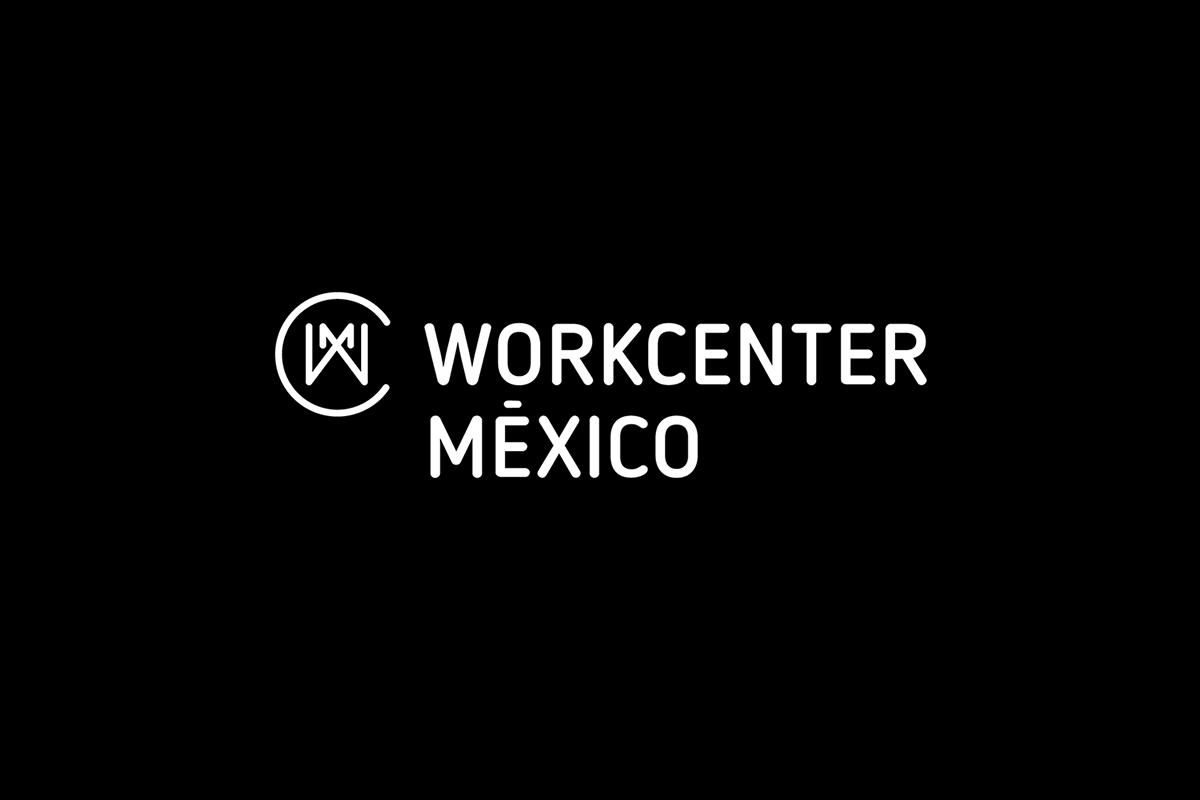 L'identité du Workcenter Mexico par le studio de communication Bienal Comunicacion