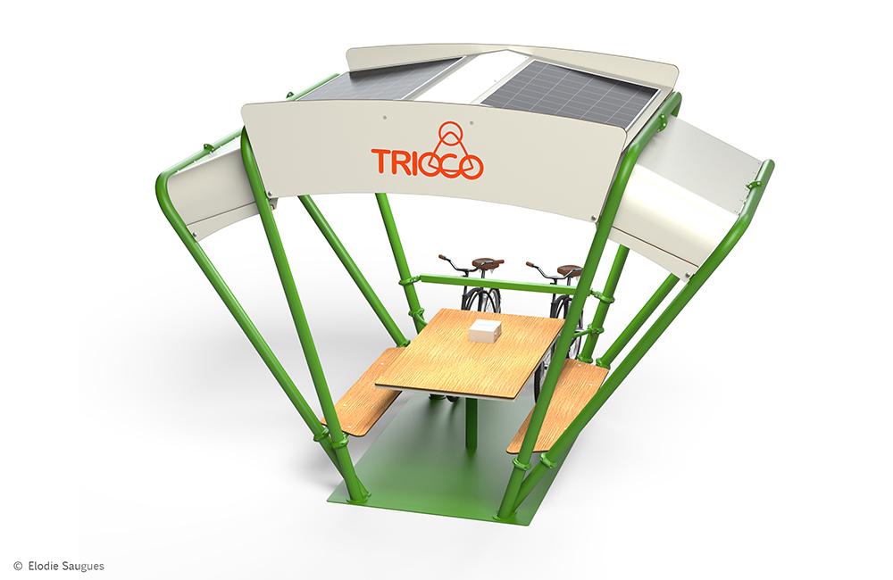 TRIOCO, un espace urbain facilitateur d'interconnectivité
