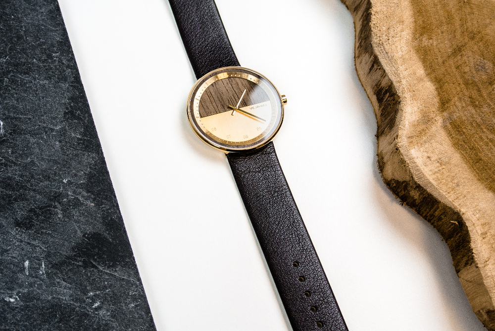Crowdfunding : Montre bois et métal par VEJRHØJ