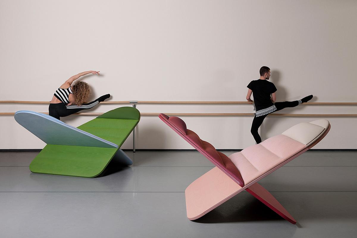 Daydream, le fauteuil de la rêverie par le studio Joynout