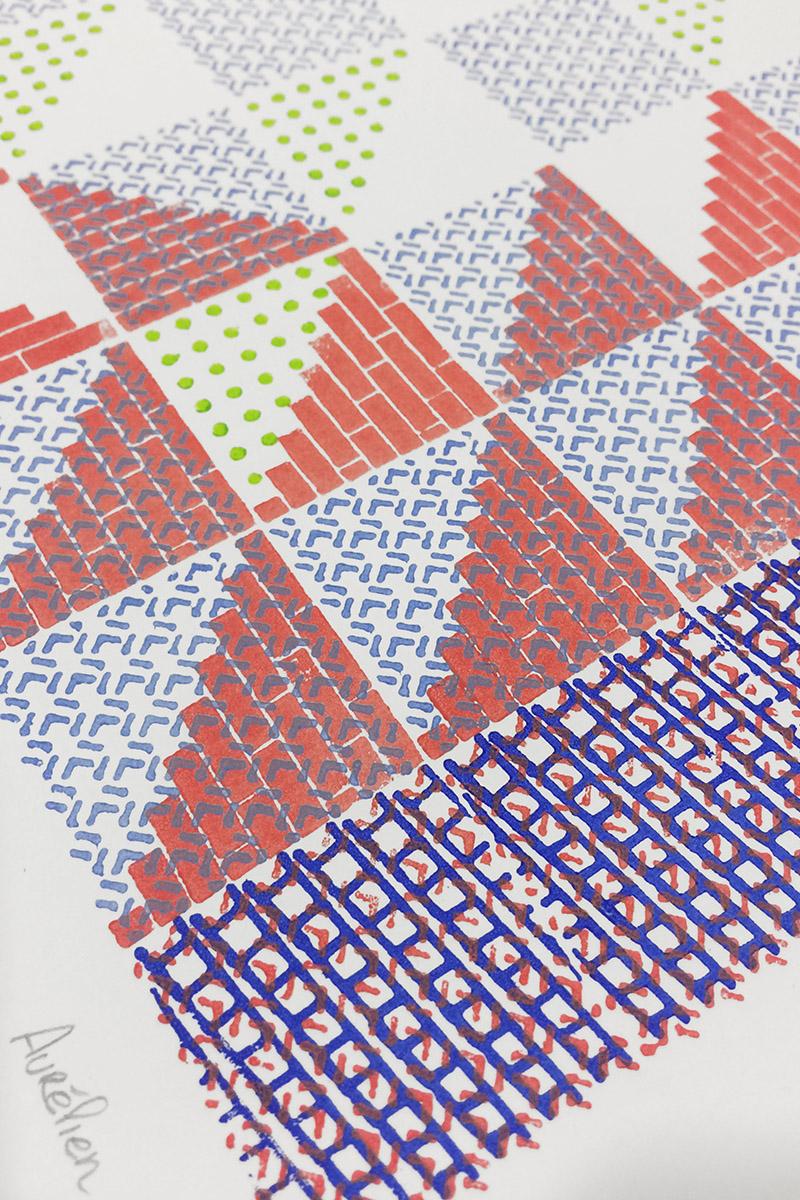 Outils de création d'illustrations pour Leroy Merlin par le studio Excla Lab