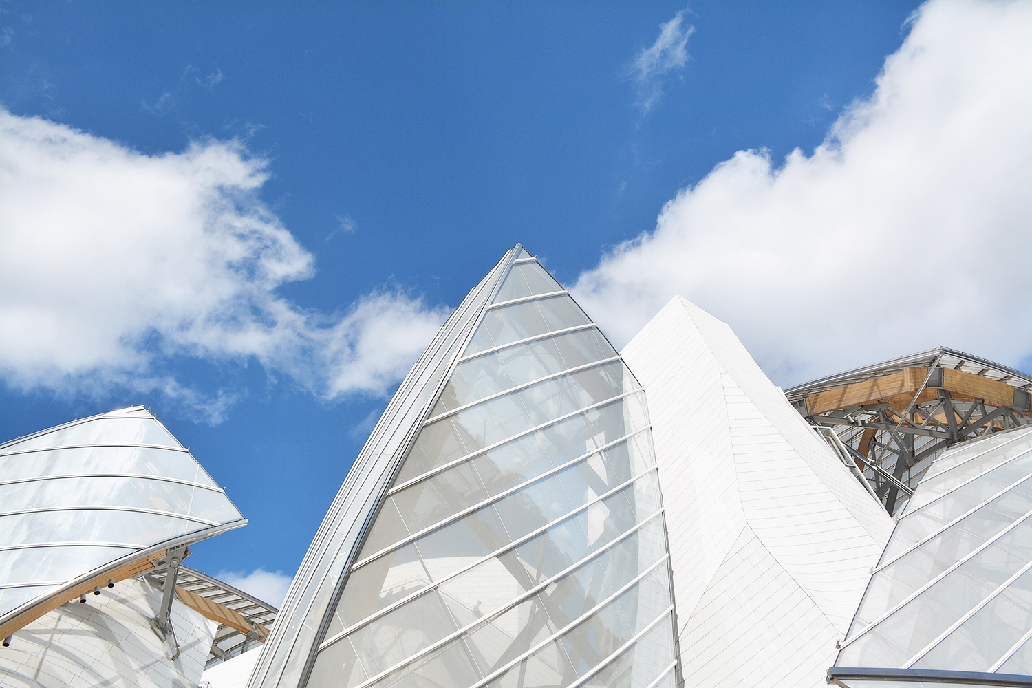 Reportage : Fondation Louis Vuitton, Paris