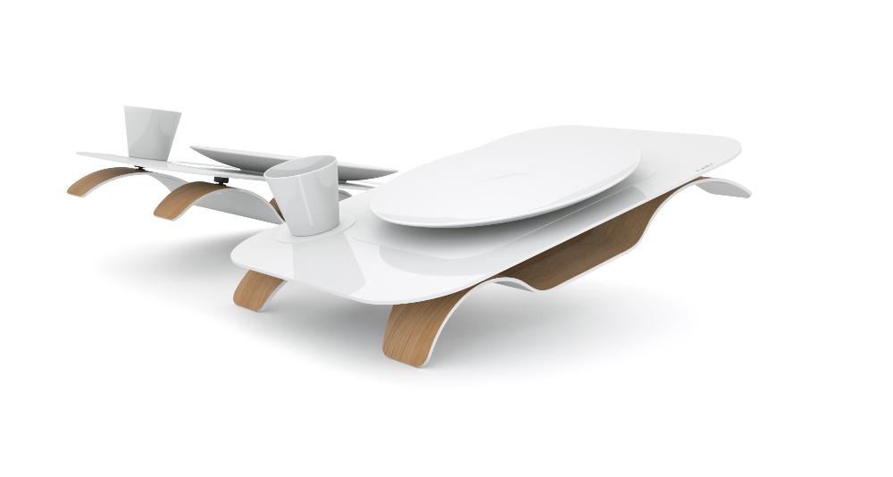 Kneestation le plateau ergonomique par Charles Plassard