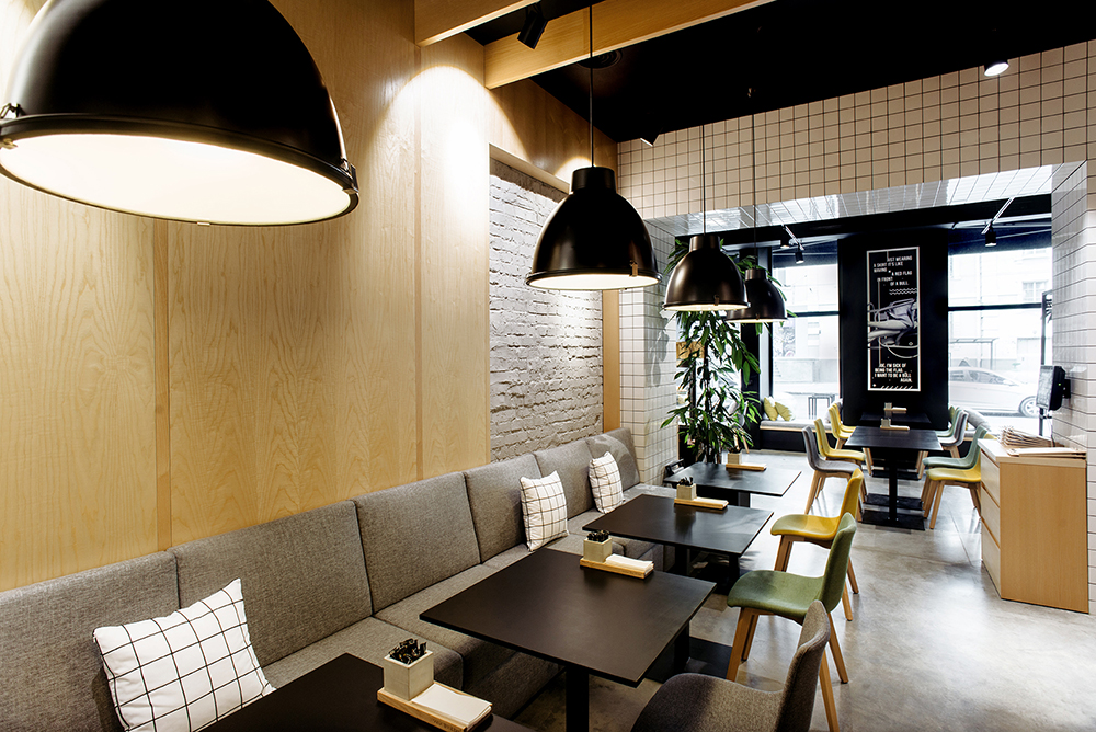 Some Like It Hot, un restaurant livré clés en main par le studio Canape