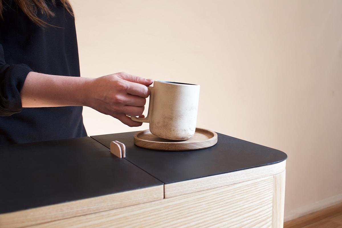 Samaná, la table de préparation liant la culture du café colombienne et mexicaine