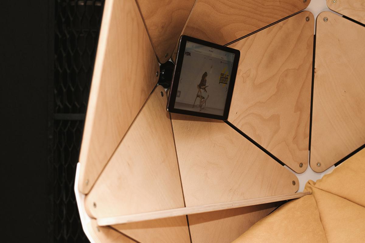 Mzpa signe le fauteuil géométrique The Planet
