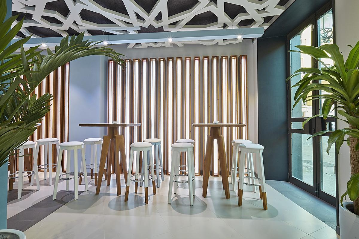 Velvet Projects signe l'intérieur du restaurant bar Abastos