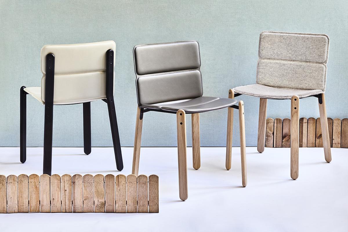 Paddock la chaise bi mati re du studio d sormeaux carette for La chaise design