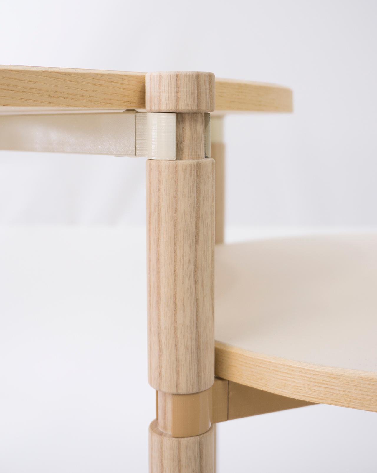 Table basse Leg-O par Kunikazu Hamanishi