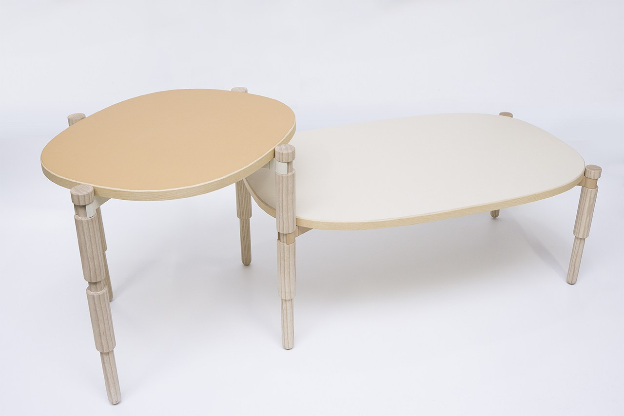 Table basse Leg-O par Kunikazu Hamanishi