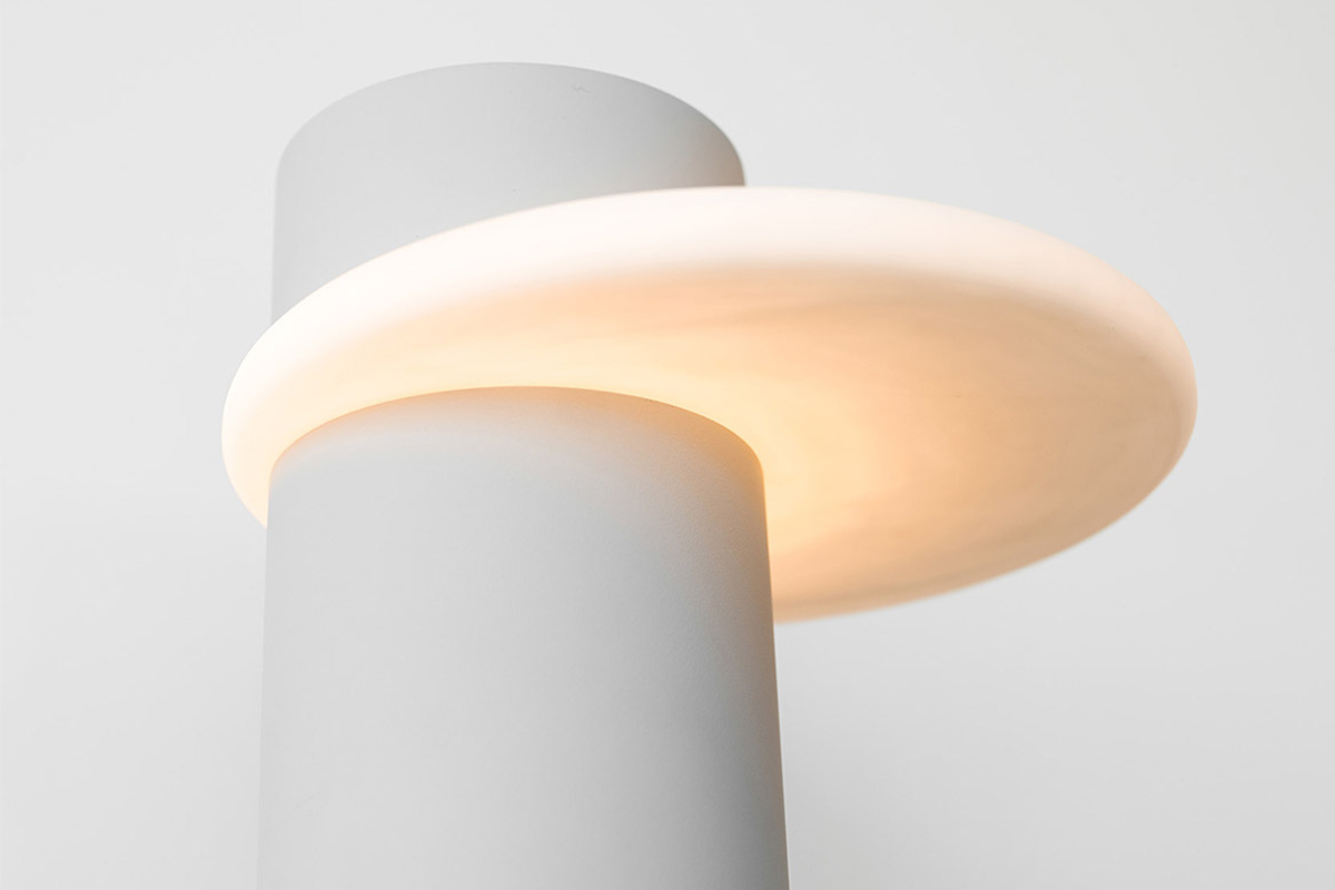 Dulce la lampe minimaliste en impression 3d de filippo for In fine architectes