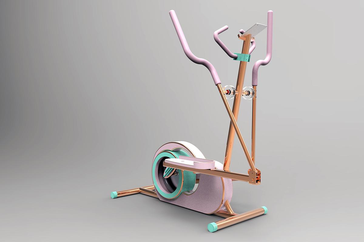 Streamtrain One, le vélo elliptique au design moderne signé Martin Hislop