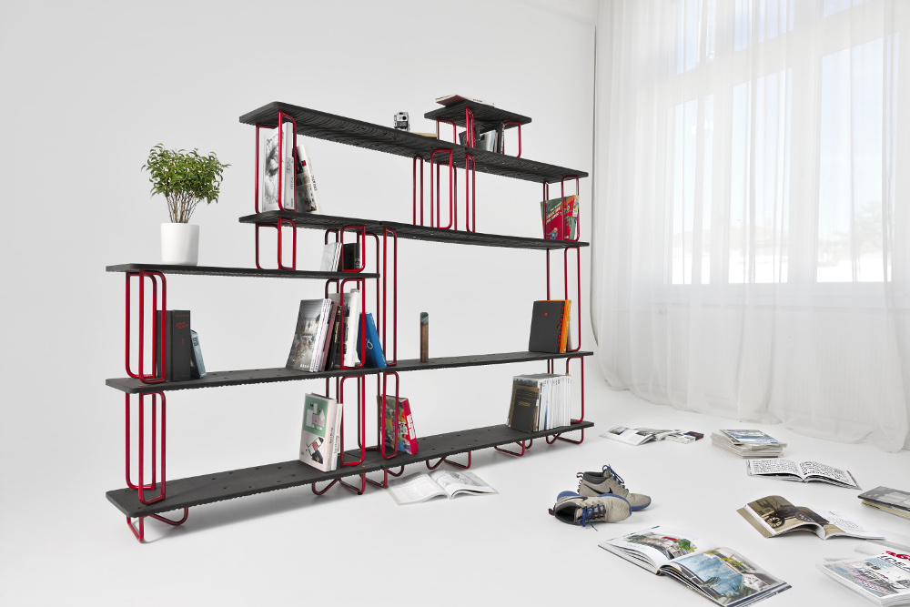 facto la biblioth que modulable par r mi casado blog esprit design. Black Bedroom Furniture Sets. Home Design Ideas