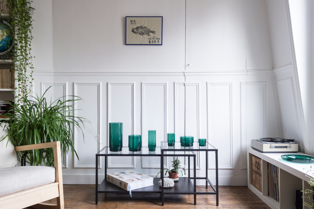 Crowdfunding : Design halieutique la collection de verre Ostraco