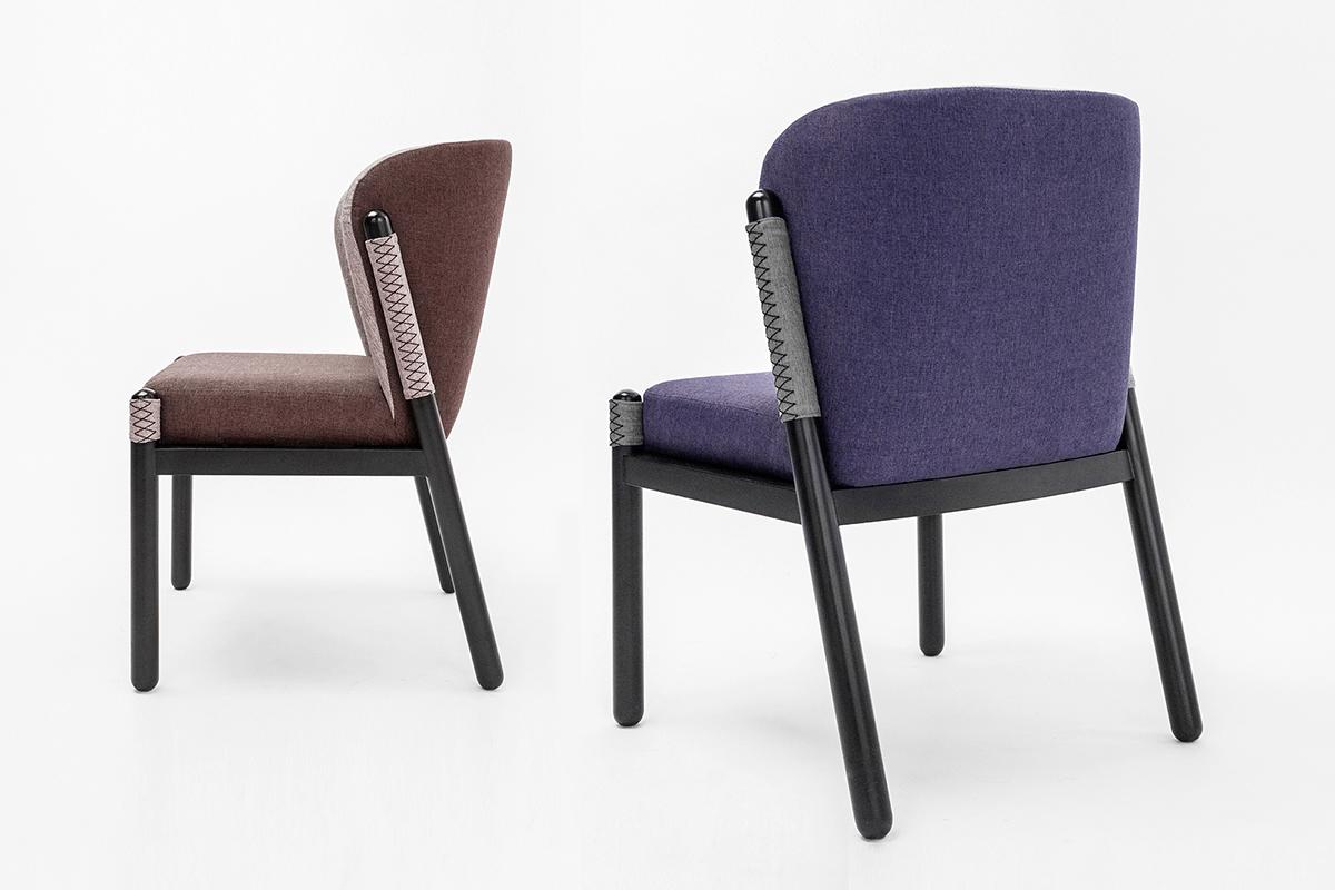 La chaise Katana inspirée de la culture japonaise par Pavel Vetrov