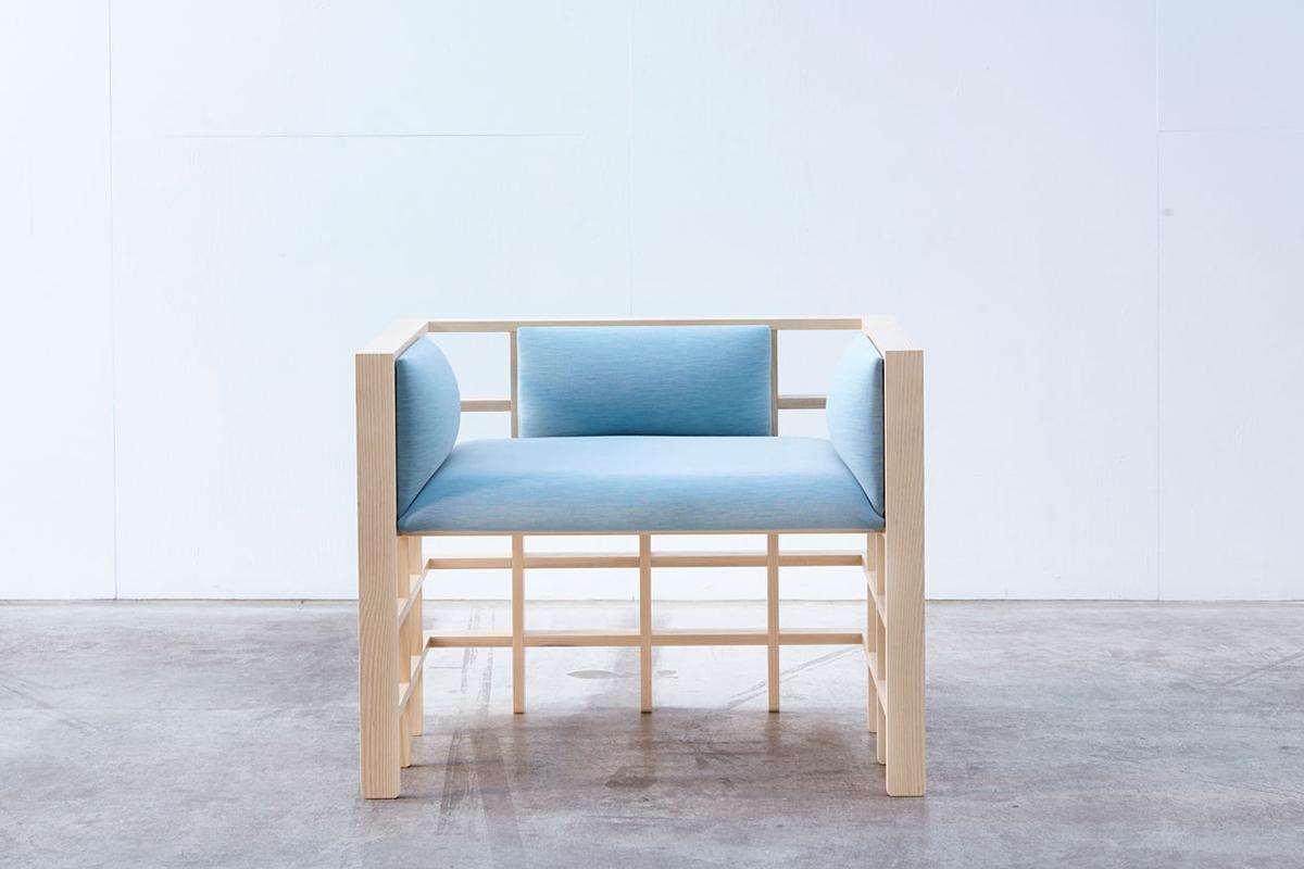Straight Lines, la collection de mobilier de Elliot Bastianon exposée à la galerie M2