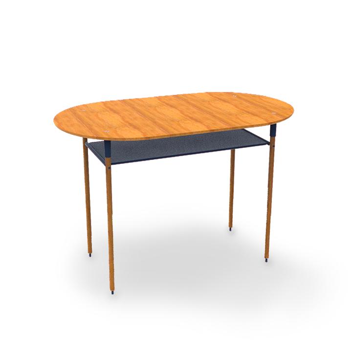 FOMO : table permettant de déposer vos téléphones, disposant d'un textile anti-ondes pour profiter de vos amis et famille par Laurène Marinier