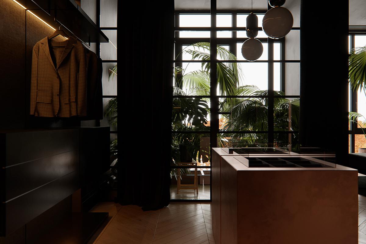 Blind & Sensual Anne, le projet de design d'espace par Marra Group