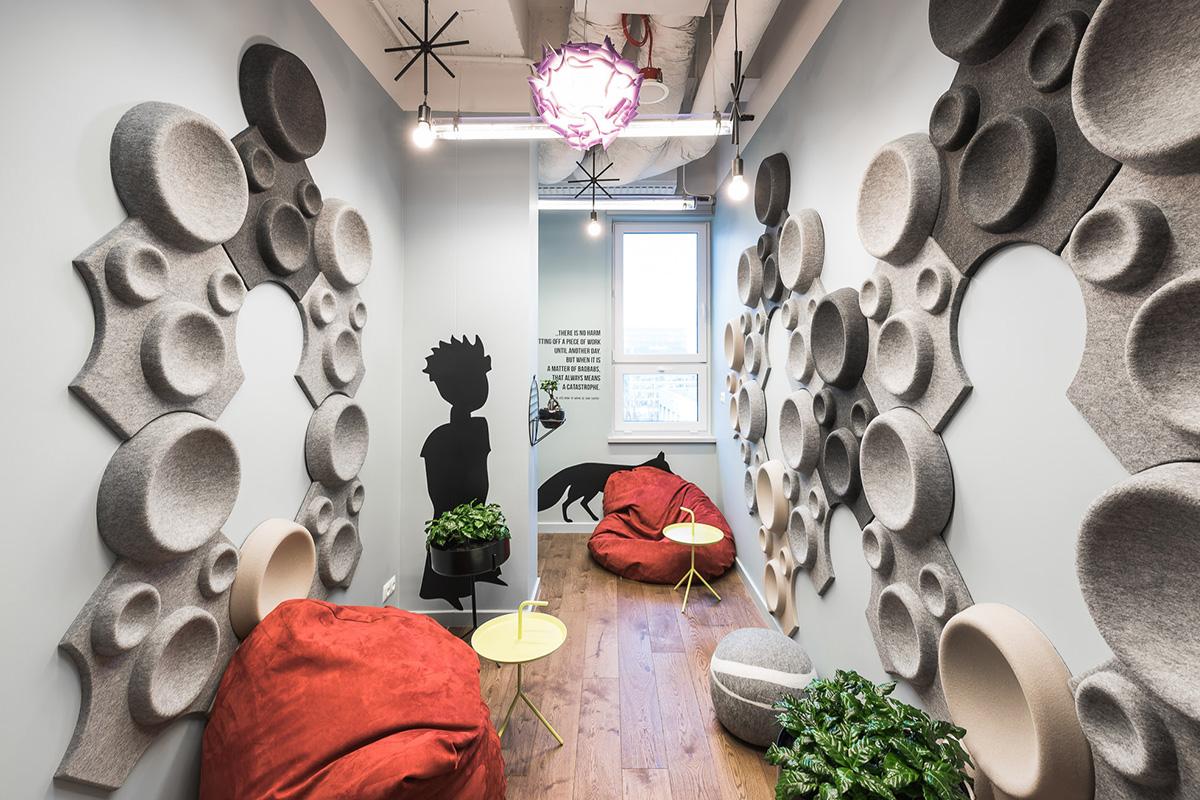 L'aménagement intérieur de la Brain Ambassy signé studio mode:lina
