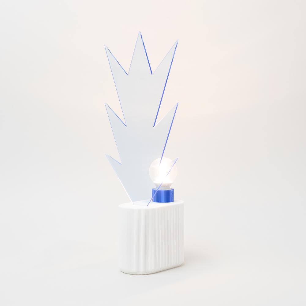 NEPTUNE lampes colorées imprimées en 3D par UAU project