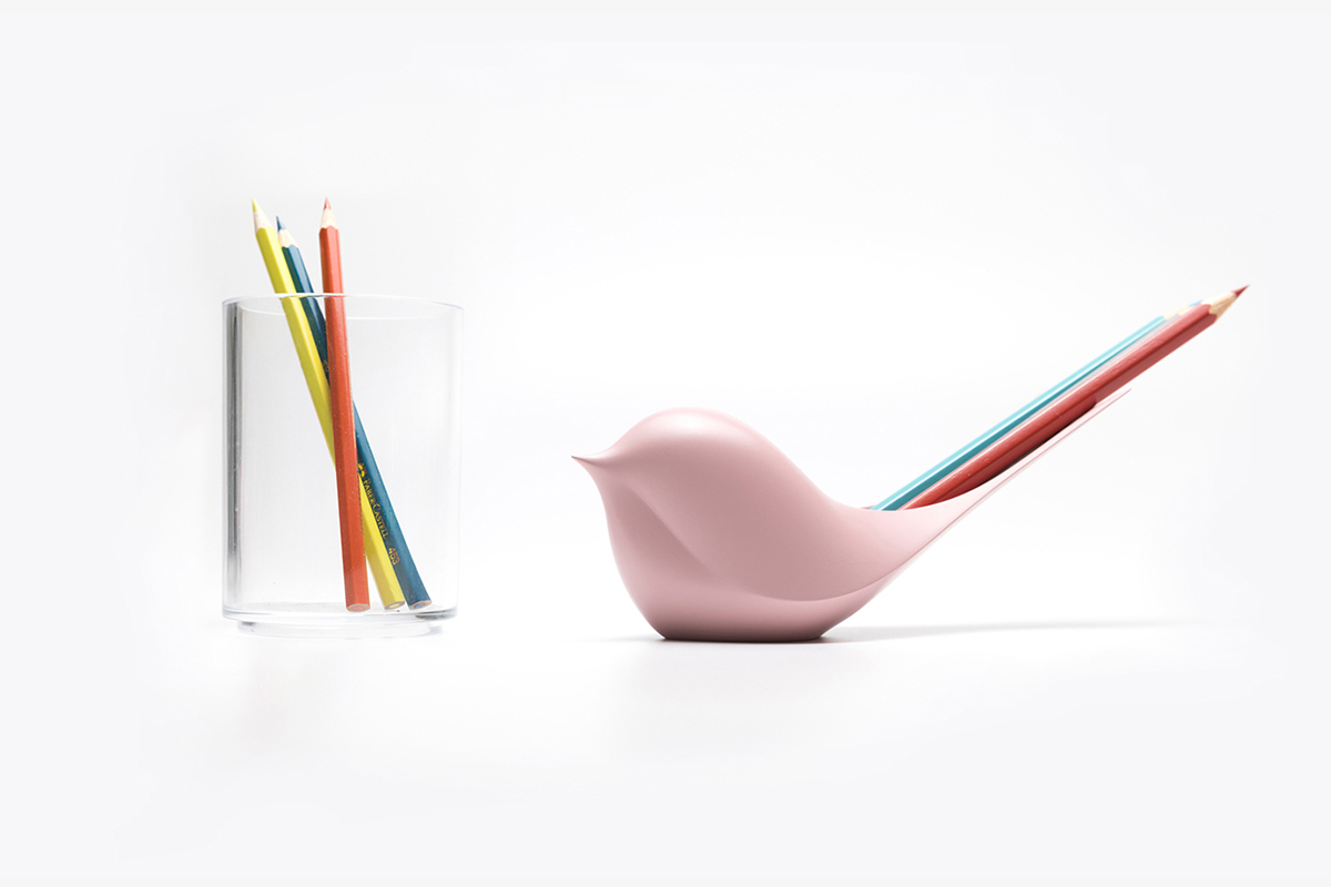 Table Zoo, le set de rangement de bureau du studio Rong
