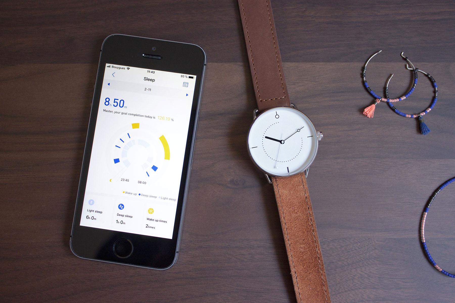 Crowdfunding : La montre SHAMMANE 03 Connectée Hybride