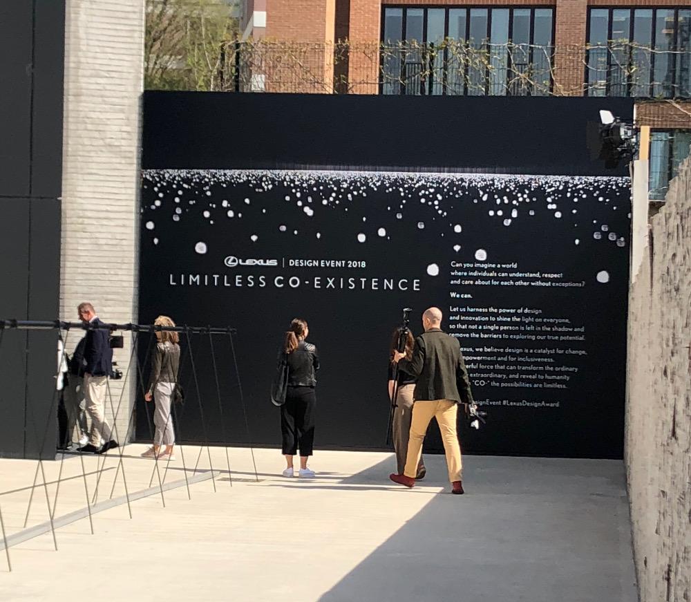 Reportage :  Lexus Design Award 2018 à la Milan Design Week 2018