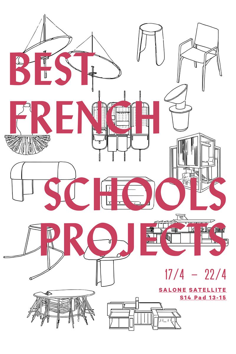 Milan Design Week | Le French Design – Best French Schools Projects par le VIA