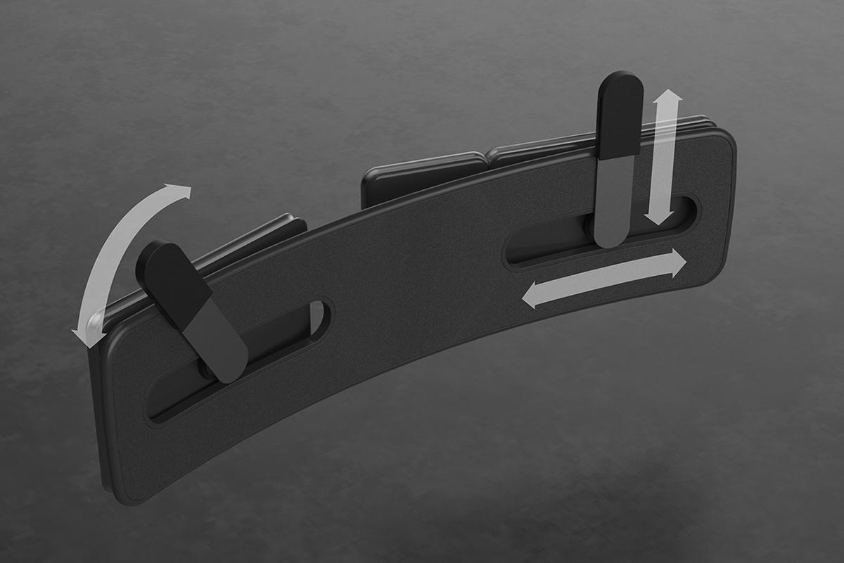 Un clavier ergonomique et réglable pensé par Anton Ruckman