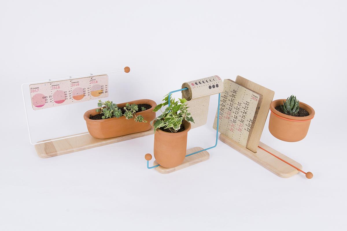 Projet étudiant : FridUP - dai tempo al tempo, les calendriers de Massimiliano Bettinelli