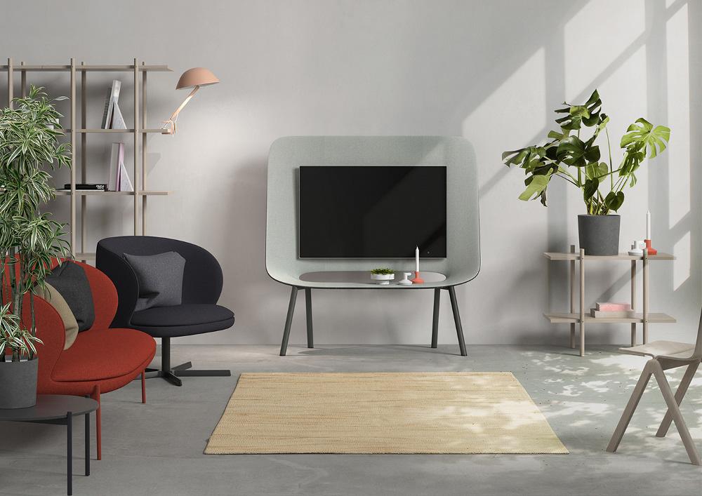 Parotia le meuble TV par Burak Kocak