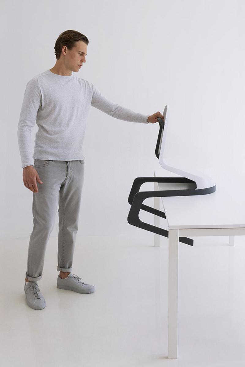 Projet étudiant : DCC, la chaise d'espaces publics flexible de Frederic Ratsch